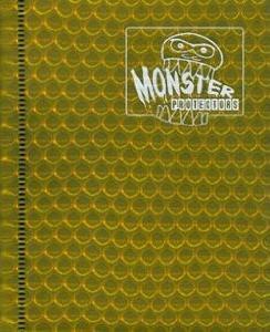 Monster Protectors 4 Pocket Gold Binder