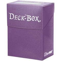 Solid Purple Deck Box