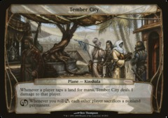 Tember City (oversized card)