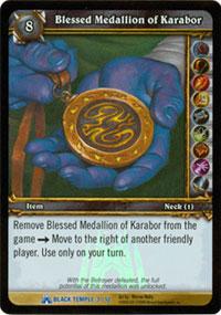 Blessed Medallion of Karabor