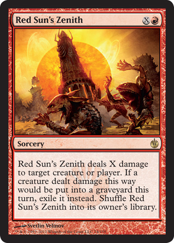 Red Suns Zenith
