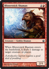 Blisterstick Shaman on Channel Fireball