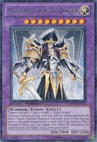 Arcana Knight Joker - DT04-EN037 - Rare Parallel Rare - Duel Terminal