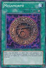 Megamorph - DT04-EN044 - Duel Terminal Normal Parallel Rare - 1st Edition