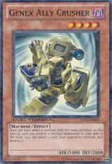 Genex Ally Crusher - DT04-EN069 - Duel Terminal Normal Parallel Rare - 1st Edition on Channel Fireball