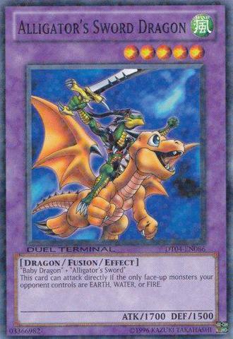 Alligator's Sword Dragon - DT04-EN086 - Parallel Rare - Duel Terminal