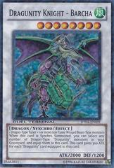 Dragunity Knight - Barcha - DT04-EN091 - Super Parallel Rare - Duel Terminal on Channel Fireball