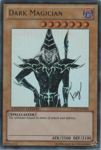 Dark Magician - JUMP-EN049 - Ultra Rare - Limited Edition