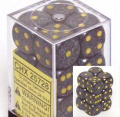 12 Urban Camo Speckled 16mm D6 Dice Block - CHX25728