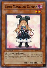 Ebon Magician Curran - CRV-EN031 - Common - 1st Edition