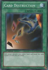 Card Destruction - SDDL-EN030 - Common - 1st Edition