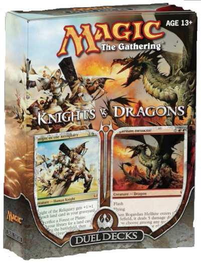 Duel Decks: Knights vs Dragons