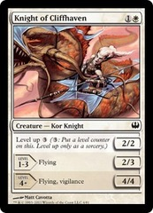 Knight of Cliffhaven on Channel Fireball
