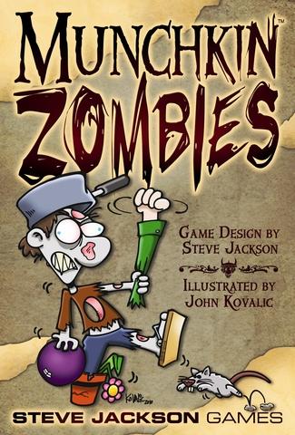 SJG1481 Munchkin Zombies