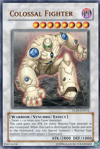 Colossal Fighter - Bronze - DL09-EN012 - Rare - Unlimited Edition