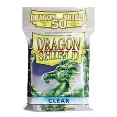 Dragon Shield 50 Count Yugioh Sized Sleeves - Clear