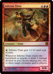 Inferno Titan 2012 DOTP PS3 Foil
