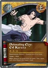 Detonating Clay: C4 Karura - J-747 - Super Rare - 1st Edition - Foil
