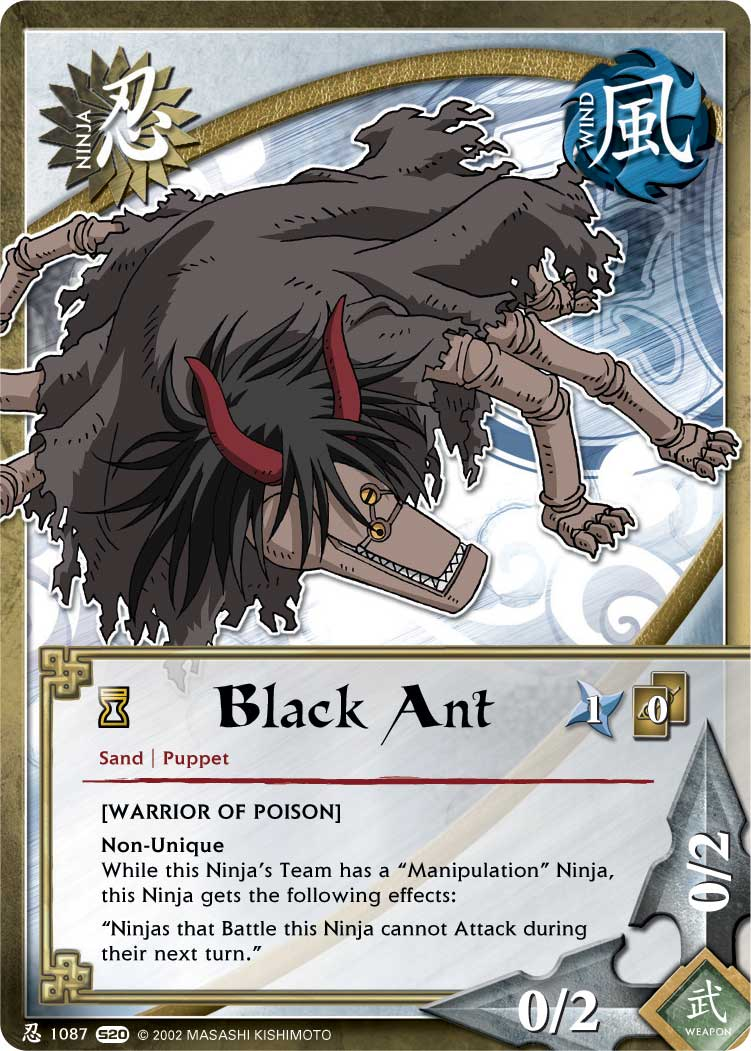 Black Ant - N-1087 - Common - 1st Edition