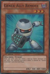 Genex Ally Remote - HA04-EN001 - Super Rare - 1st Edition