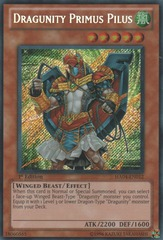Dragunity Primus Pilus - HA04-EN012 - Secret Rare - 1st Edition on Channel Fireball