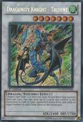 Dragunity Knight - Trident - HA04-EN028 - Secret Rare - 1st Edition on Channel Fireball