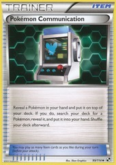 Pokemon Communication - 99/114 - Uncommon
