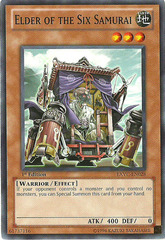 Elder of the Six Samurai - EXVC-EN028 - Common - 1st Edition