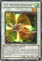 T.G. Recipro Dragonfly - EXVC-EN039 - Rare - 1st Edition on Channel Fireball
