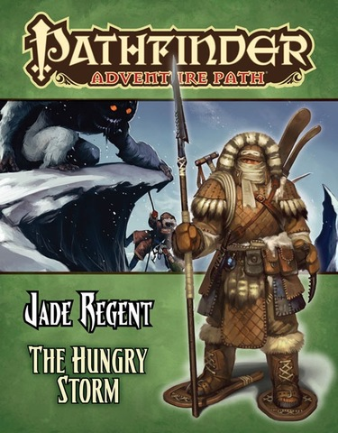 Pathfinder Adventure Path #51: The Hungry Storm (Jade Regent 3 of 6)
