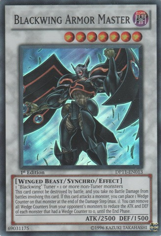 Blackwing Armor Master - DP11-EN013 - Super Rare - 1st Edition