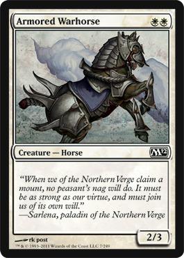 Armored Warhorse
