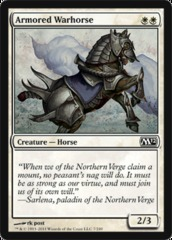 Armored Warhorse on Channel Fireball