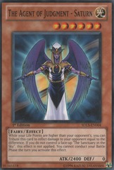 The Agent of Judgment - Saturn - SDLS-EN004 - Common - 1st Edition on Channel Fireball