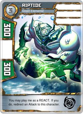 Riptide - Green Elemental