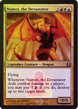 Oversized - Numot, the Devastator