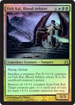 Vish Kal, Blood Arbiter (Oversized Promo Foil)