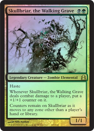 Skullbriar, the Walking Grave - Foil Oversized Promo