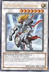 Lightning Warrior - JUMP-EN046 - Ultra Rare - Limited Edition on Channel Fireball