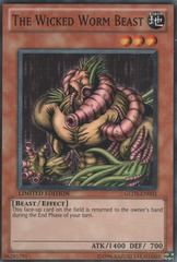 The Wicked Worm Beast - GLD4-EN003 - Common - Limited Edition