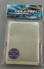 Dek Prot 50ct. Yugioh Sized Sleeves - Clear