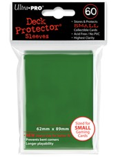 Ultra Pro 60ct Yugioh Sized Sleeves - Green