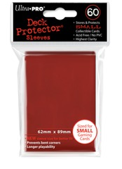Ultra Pro 60ct Yugioh Sized Sleeves - Red