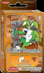 Killer Bunnies and the Ultimate Odyssey: Burn Baby Burn Animals Expansion Deck