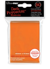Ultra Pro - Orange Standard Deck Protectors - 50ct