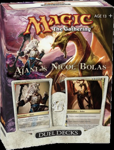 Magic the Gathering Ajani vs Nicol Bolas Duel Decks
