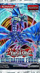 Yu-Gi-Oh Generation Force 1st Edition Booster Pack
