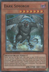 Dark Simorgh - CT08-EN006 - Super Rare - Limited Edition on Channel Fireball