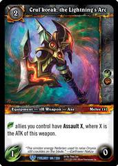 Crul'korak, the Lightning's Arc