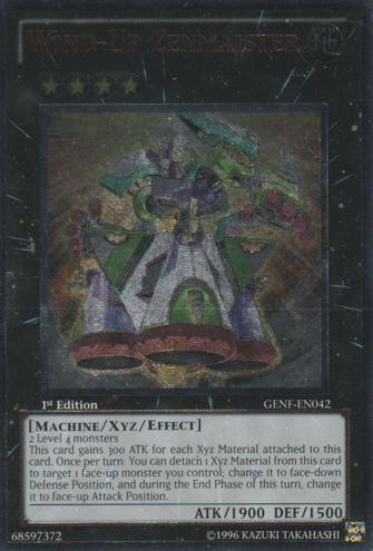 Wind-Up Zenmaister - GENF-EN042 - Ultimate Rare - 1st Edition